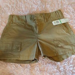 Calvin Klein khaki tan shorts size 8